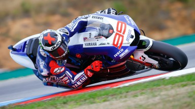 Lorenzo determined to close gap at front