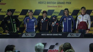 Thursday Press Conference kicks off Hertz British Grand Prix