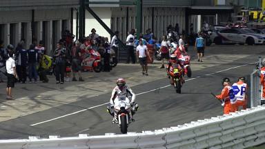 Redding heads first British GP practice