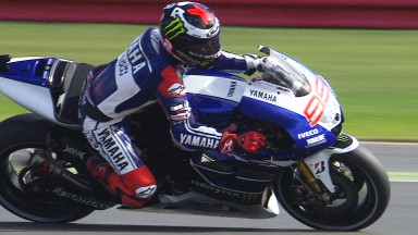 Lorenzo mais rápido no 1º dia do GP de Inglaterra