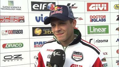 Bradl an Tag eins in Silverstone auf Platz neun