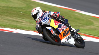 Red Bull MotoGP Rookies Cup: Another pole for Hanika