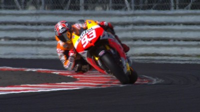 Marquez flies to pole position at Silverstone