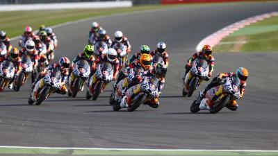 Red Bull MotoGP Rookies Cup: Deroue wins, Hanika crashes
