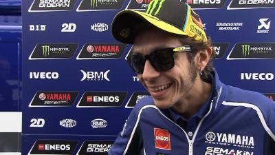 """Rossi: """"Mejor que en Brno, pero sigue siendo un cuarto puesto"""""""