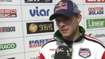 Bradl's biggest issue still lack of adhesion