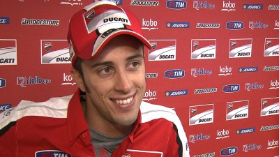 Dovizioso's first race retirement of 2013