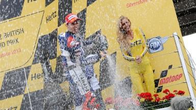 ヤマハ・ファクトリー、ロレンソが今季4勝目/ロッシは3戦連続の4位