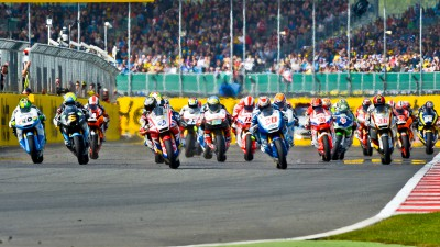 Redding leads the pack into Misano