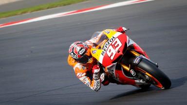 Márquez: 'Espero estar casi al cien por cien este fin de semana'