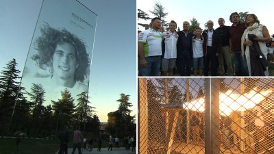 Marco Simoncelli Monument unveiled in Coriano