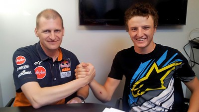 Miller signs for Red Bull KTM Ajo