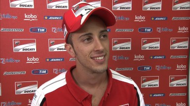 Dovizioso and Hayden more optimistic on Friday