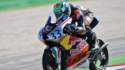 Red Bull MotoGP Rookies Cup: Home heroes star at Misano