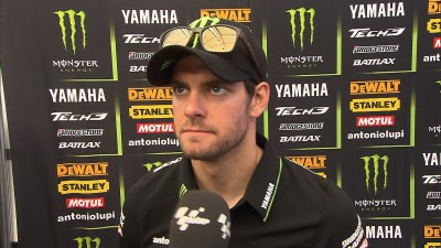Perseverance pays as Crutchlow makes Row 2