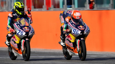 Red Bull MotoGP Rookies Cup: Hanika claims the title