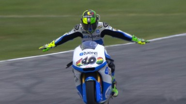 Espargaro collects a well-timed win