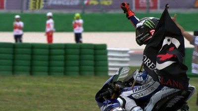 Lorenzo triumphs in San Marino GP