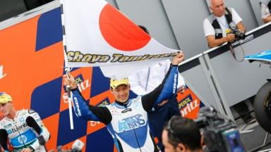 Nakagami thanks Tomizawa for strength