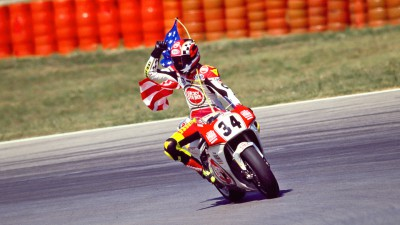 Kevin Schwantz on Marquez and Rossi