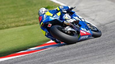 Suzuki completes three-day test at Misano