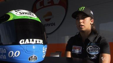 Maria Herrera: 'Vengo a MotorLand a disfrutar y a mejorar mis tiempos'