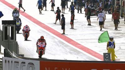 Terol guida la classe Moto2™ ad Aragon