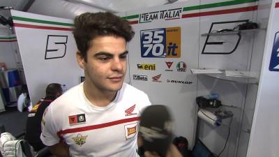 """Fenati: """"Pensar que correré para Rossi me pone la piel de gallina"""""""