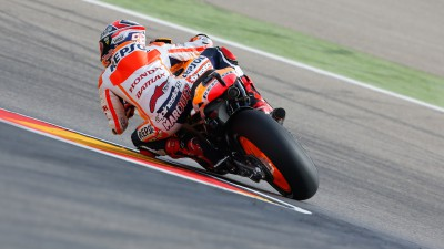 Marquez reacts to seventh pole of campaign