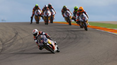 Hanika takes seventh victory in first Aragon race
