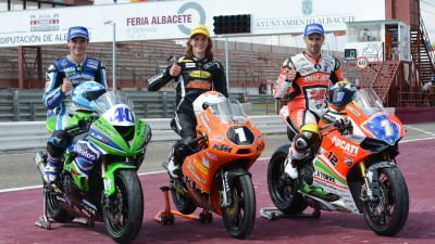 Nuevos campeones de Europa 2013: Hanicka en Moto3™, Román Ramos en Supersport 600 y Forés en Superstock 1000