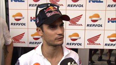 Pedrosa confident despite second row slot