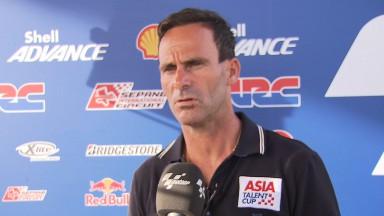 Puig explica el proceso de selección para la Shell Advance Asia Talent Cup