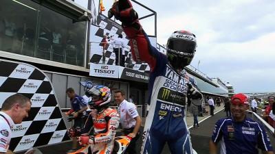Lorenzo gewinnt Australian-GP - Márquez disqualifiziert