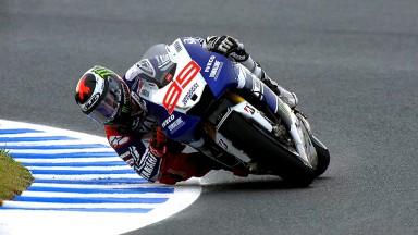 Lorenzo gana el duelo por la pole en Japón