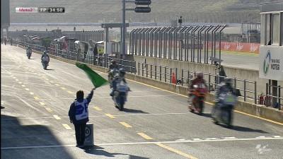 フリー走行:P.エスパルガロがタイトル獲得に向けて1番時計