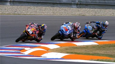 Les trois candidats au titre Moto3™ pour la finale de Valence