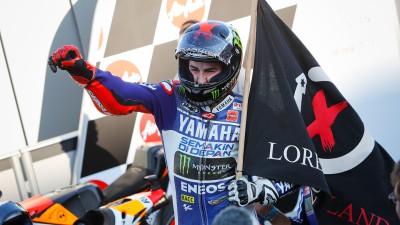 J.ロレンソ、表彰台獲得数でビアッジ越えに挑戦