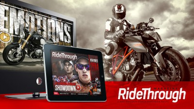 Ride Through title showdown special out now