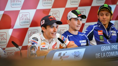 Marquez and Lorenzo commence tense Championship decider