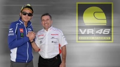 Aspar y Rossi se unen para promover el motociclismo base