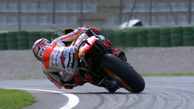 Marquez the main man on day one at Valencia