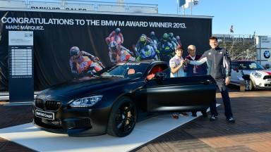 2013 BMW M Award goes to Marquez