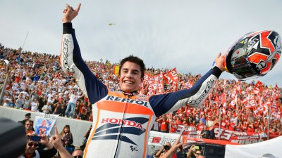 The Marc of Greatness: Marquez becomes youngest MotoGP™ King
