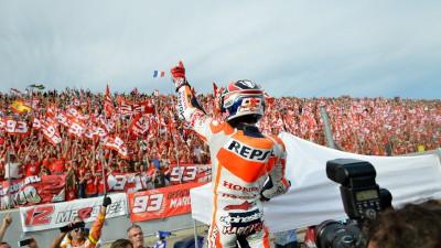 Der Titelgewinn von Márquez sorgte weltweit für Schlagzeilen