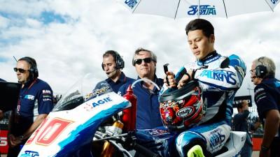 中上貴晶、イタルトランス・レーシングからチーム・アジアに移籍