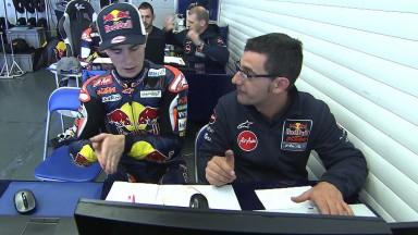 Miller beginnt Moto3™-Test in Jerez an der Spitze