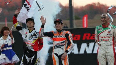 Marquez attends Honda 'Thanks Day' at Motegi