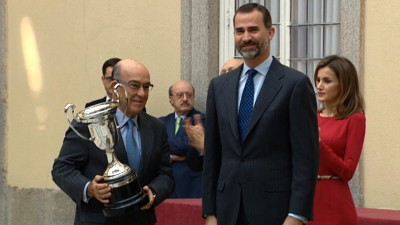Dorna receives 2012 National Sports prize