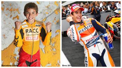 2人の王者マルケス&エスパルガロ、9年前のチームメイト&ライバル